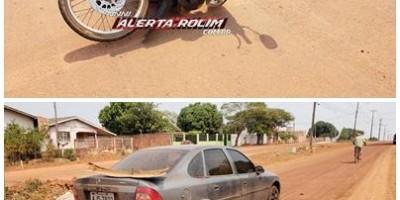Mais um acidente de trânsito com vítima é registrado nesta segunda-feira, em Rolim de Moura