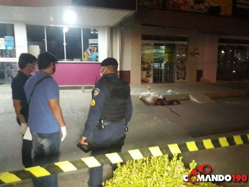 Morador de rua é morto a tiros durante a madrugada, em Ji-Paraná
