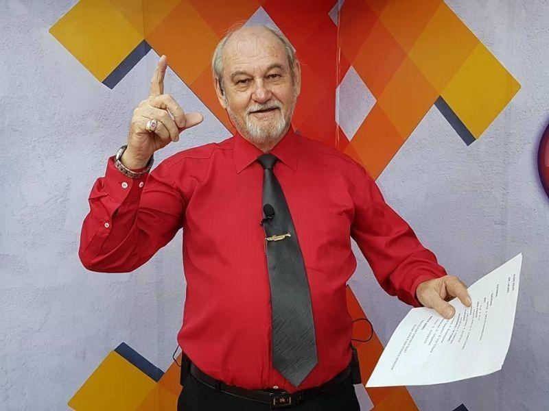 Radialista Arno Voigt testa positivo para Covid-19 e é internado na UTI