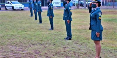 Solenidade militar marca promoção dos novos sargentos da PM, em Cacoal