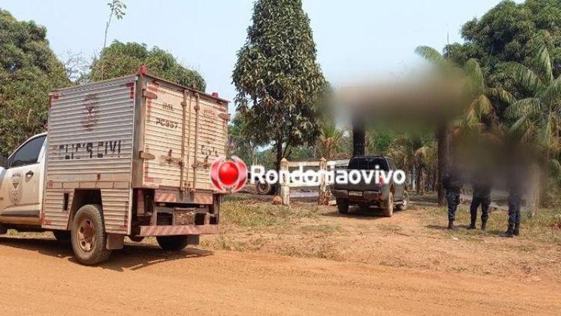 Trabalhador morre após levar coice de vaca em curral de fazenda, em RO