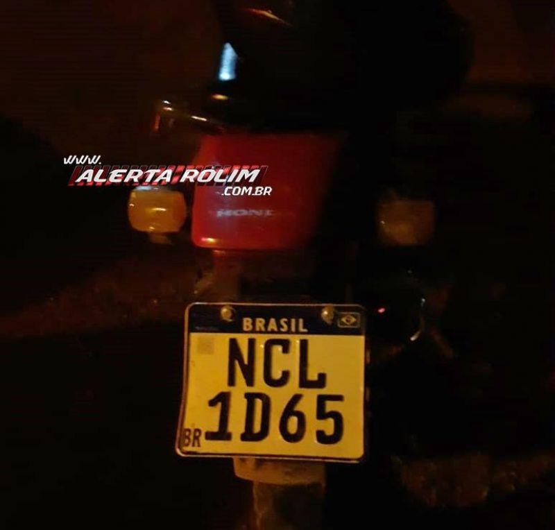 Após acompanhamento tático, Polícia Militar recupera moto com restrição de roubo/furto, em Rolim de Moura