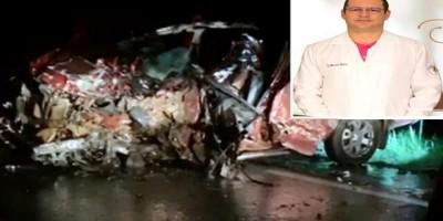 Dentista de Pimenta Bueno, que foi uma das vítimas do grave acidente na BR-364, também não resistiu e morreu