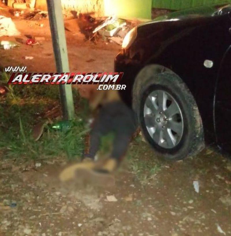 Homem é executado a tiros , em Santa Luzia do Oeste