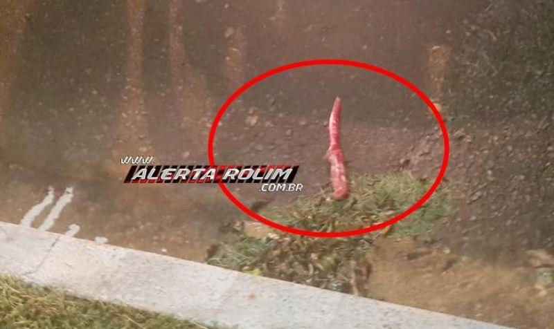 Homem é morto a facadas e pauladas, no centro de Rolim de Moura