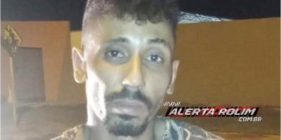 Ladrão é preso em flagrante pela Polícia Militar, após prática de furto em residência