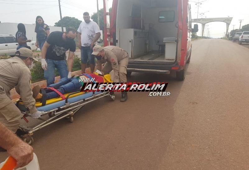 Motociclista que bateu em poste de iluminação em Rolim de Moura não resistiu aos ferimentos e morreu, em Cacoal