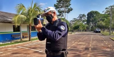 """Polícia Militar de Cacoal recebe """"Radar Móvel"""" para fiscalização do trânsito"""