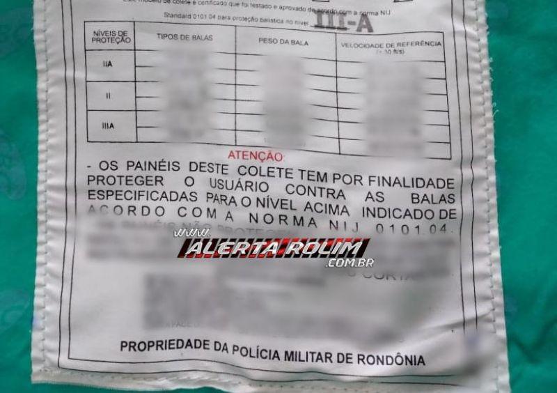 Policial Militar em Pimenta Bueno é preso pela própria corporação em flagrante com carro roubado, drogas e colete extraviado do Quartel
