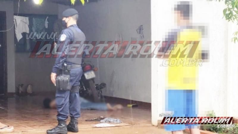 URGENTE – Jovem é executado a tiros no Bairro Cidade Alta, em Rolim de Moura