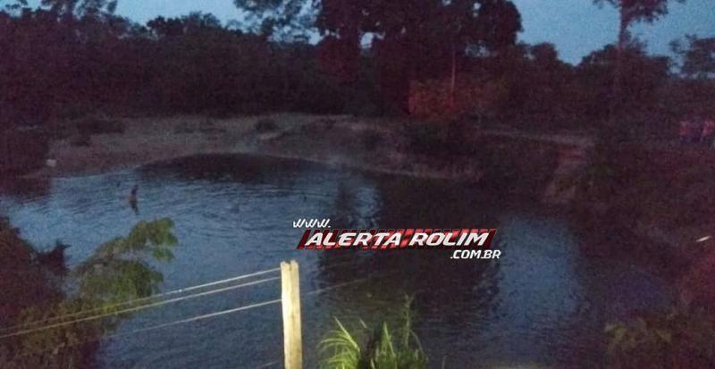 URGENTE - Mergulhadores do Corpo de Bombeiros encontram corpo do jovem que se afogou em rio na linha 148, em Migrantinópolis