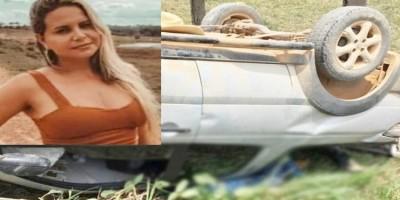 Jovem morre após carro capotar, em Vale do Anari