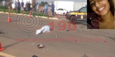 ARIQUEMES: TRÁGICO - Adolescente de 14 anos vem a óbito após colisão com carreta na BR-364