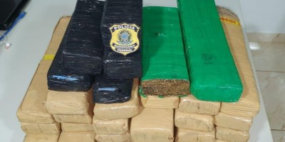 Em Ji-Paraná/RO, PRF apreende 31 quilos de maconha dentro de caminhão