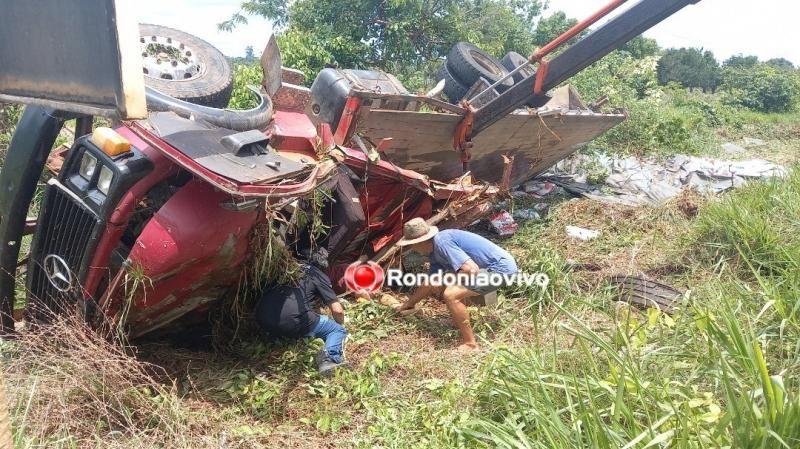 Morador de Castanheiras está entre as vítimas que foram esmagadas por caminhão na BR-364