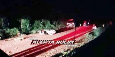 URGENTE - Dois motociclistas foram a óbito após grave acidente na Zona Rural de Castanheiras