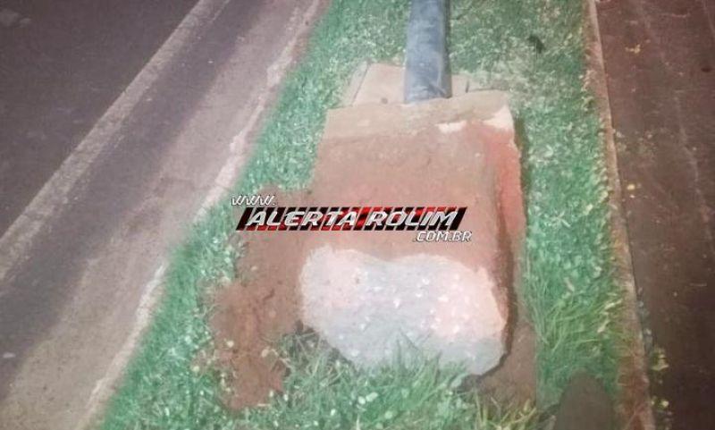 URGENTE - Rolimourense perde a vida, após sofrer queda de moto e colidir em poste de iluminação, na RO-010, em Rolim de Moura