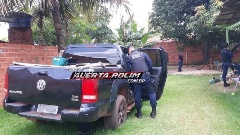 Durante trabalho em conjunto entre as polícias Civil e Militar, suspeito de tráfico de drogas acaba preso, em Rolim de Moura