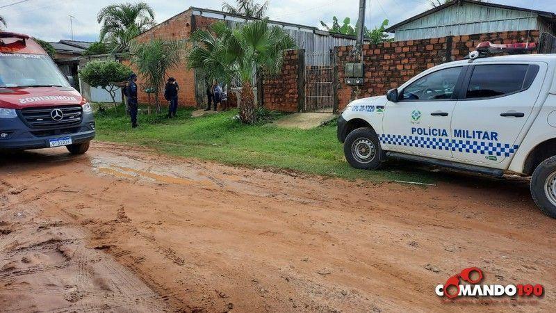 Homem é morto com mais de 08 facadas ao tentar separar briga de casal, em Ji-Paraná