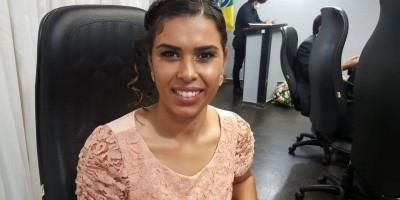 Juliana Antunes eleita 1ª secretária da mesa diretora da câmara de Rolim de Moura