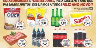 Ultimo dia!! Faça suas compras no Supermercado Central  até dia 31/12 e concorra a três mil reais em dinheiro, em Rolim de Moura