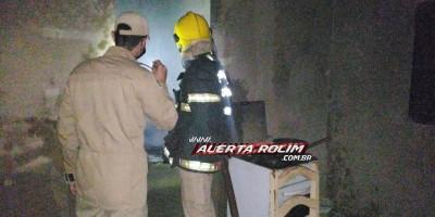 Princípio de incêndio é registado em casa que vinha sendo frequentada por usuários de drogas no Jatobá I