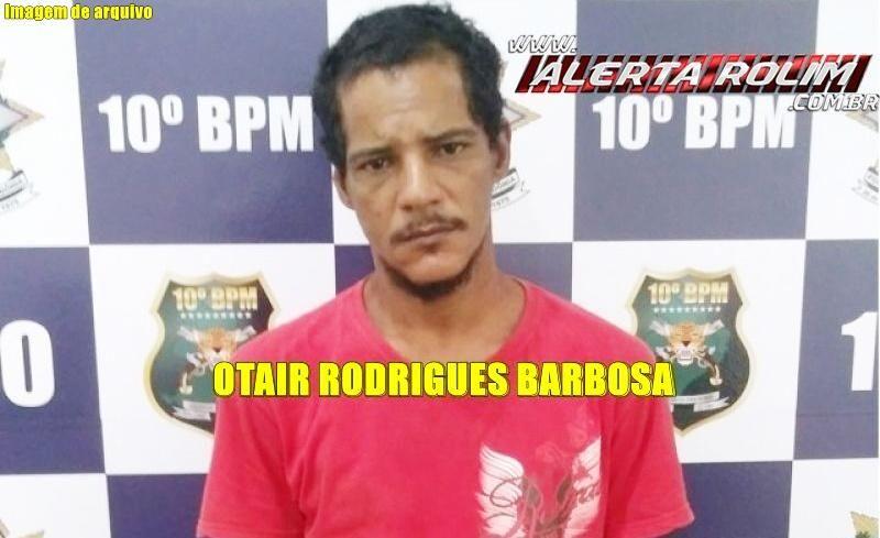 Acusado de tráfico de drogas é preso pela equipe do PATAMO da PM, em Rolim de Moura