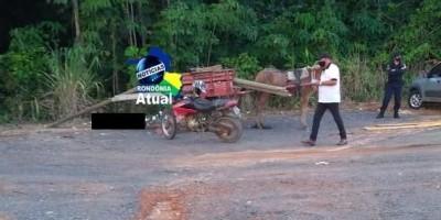 Carroceiro é encontrado morto em via pública de Ji-Paraná