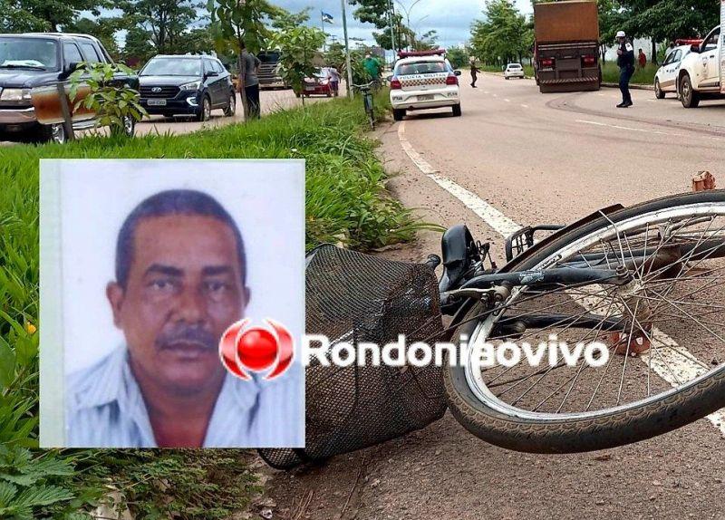 Ciclista morre após ser arrastado por carreta na Imigrantes, em Porto Velho