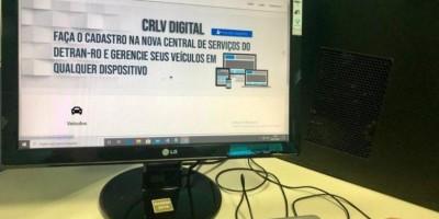 Documentos de veículos não serão mais impressos em papel moeda; Detran RO adota sistema digital