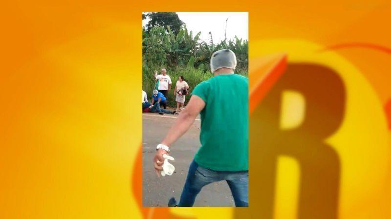 Equipe de hospital de Rolim de Moura estabiliza vítimas de grave acidente na BR-364 - Vídeo