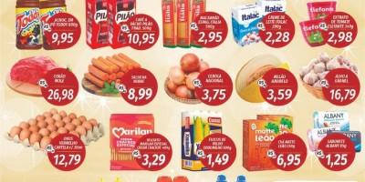 Faça suas compras no Supermercado Central  até dia 31/01 e concorra a três vales compras de mil reais cada; Confira as ofertas da semana