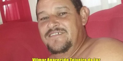 URGENTE - Familiares estão à procura de Vilmar Aparecido Teixeira da Luz, desaparecido desde segunda-feira (18), em Rolim de Moura