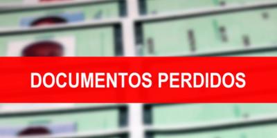 Procura-se por documentos perdidos em nome de Flávia Oliveira e Kauê Deiviti