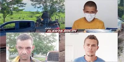 URGENTE - Foragidos da prisão em Alvorada e suspeitos de terem matado sitiante durante roubo são presos em operação conjunta da PM, PC e Polícia Penal