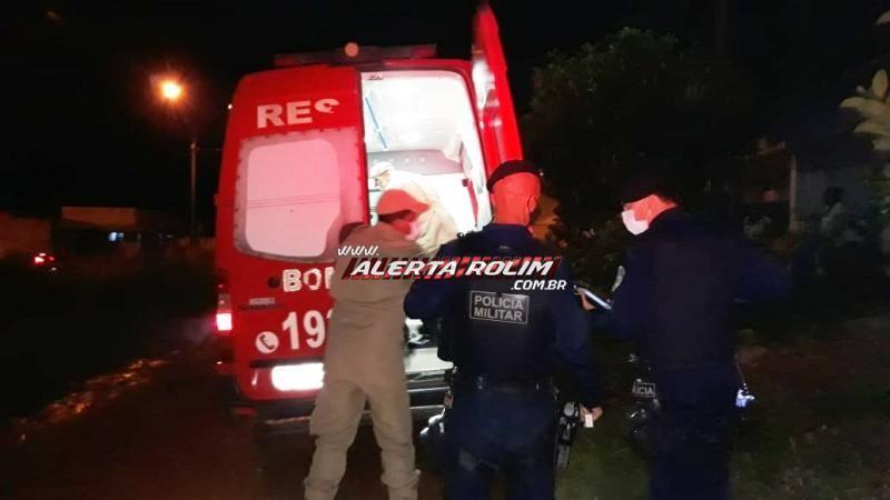 URGENTE - Homem é alvejado a tiros, no Bairro Jardim Tropical, em Rolim de Moura