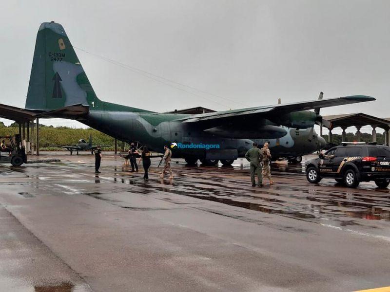 Vídeo: Vacinas chegam a Rondônia sob forte aparato da Polícia Federal