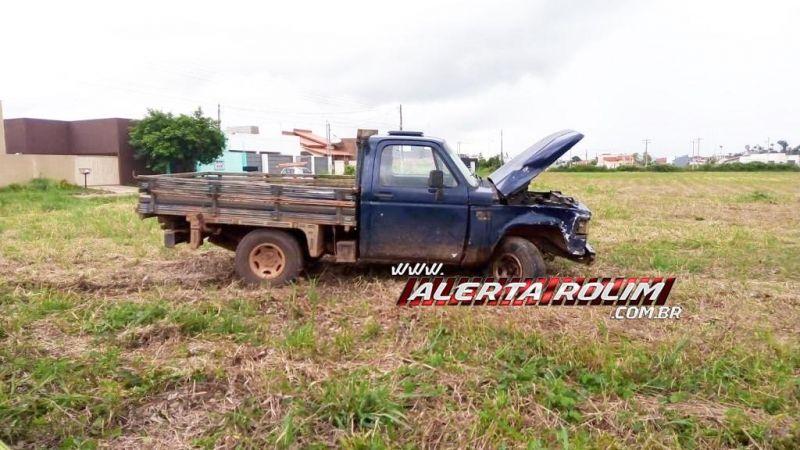 ATUALIZADA - Motociclista é socorrido em estado grave após colisão com caminhonete no Jequitibá em Rolim de Moura
