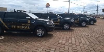 Polícia Federal em Rondônia recebe 15 novas viaturas ostensivas