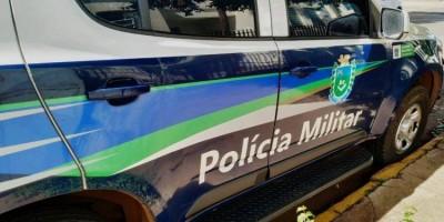 Audacioso: ladrão invade pelotão da PM e foge levando viatura policial, no MS
