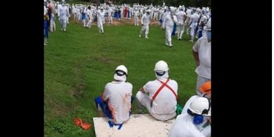 ATUALIZADA – Vinte pessoas são socorridas após vazamento de amônia em figrofico de Pimenta Bueno