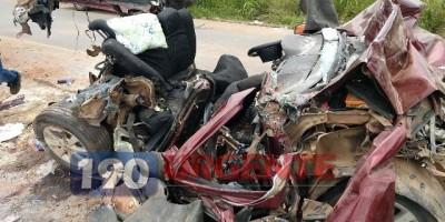 Criança de 6 meses morre em acidente de trânsito na BR-364 , em Ariquemes