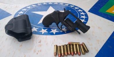 Durante operação Paz no Campo, PM apreende armas e munições