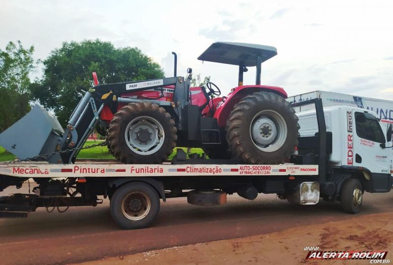 Eder Pneus informa que neste sábado e domingo estará retornando com caminhão guincho vazio de Buritis/RO