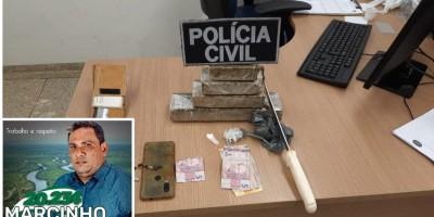 Ex-Candidato a Vereador é preso com quase 1 Kg de Maconha na cueca, em Ji-Paraná