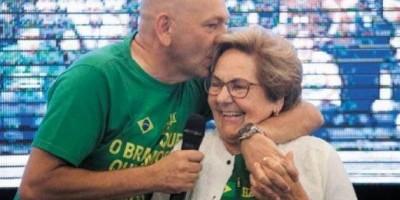Mãe de Luciano Hang morre em São Paulo após contrair Covid-19