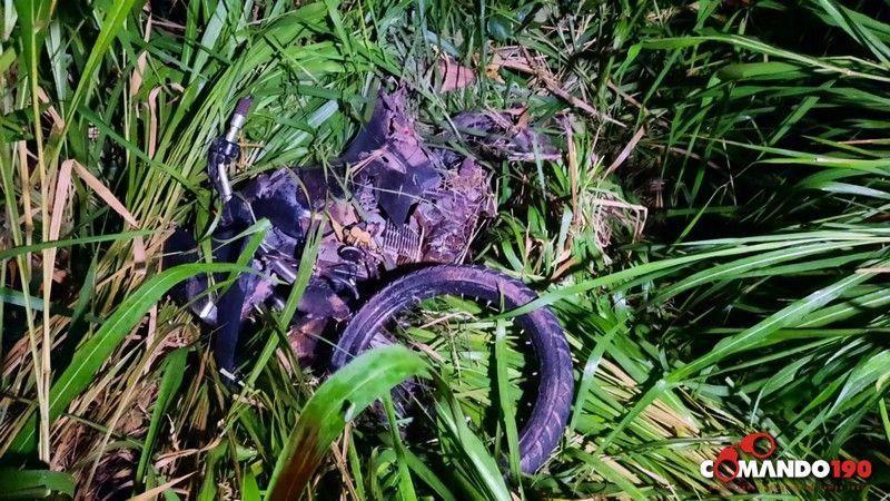 Motociclista morre esmagado por carreta na BR 364, entre Médici e Ji-Paraná
