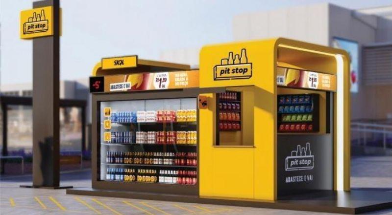 PIT STOP Ambev chega a Rolim de Moura trazendo inovação e praticidade na compra de bebidas geladas