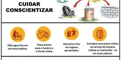 Prefeitura de Rolim de Moura lança campanha de conscientização sobre descarte correto de lixo