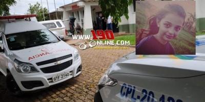 URGENTE - Menina de 11 anos morre após ser atingida por galho de árvore na zona rural de Alta Floresta
